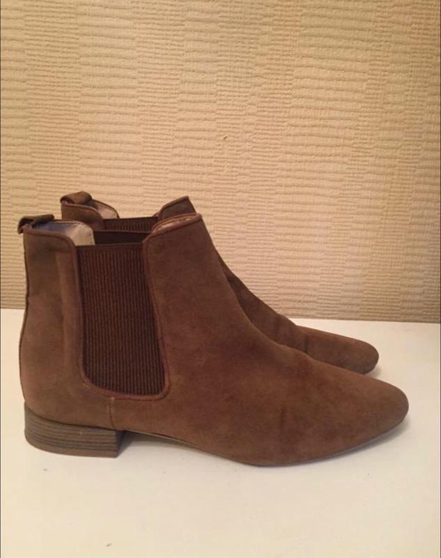 Стильные замшевые ботинки zara !