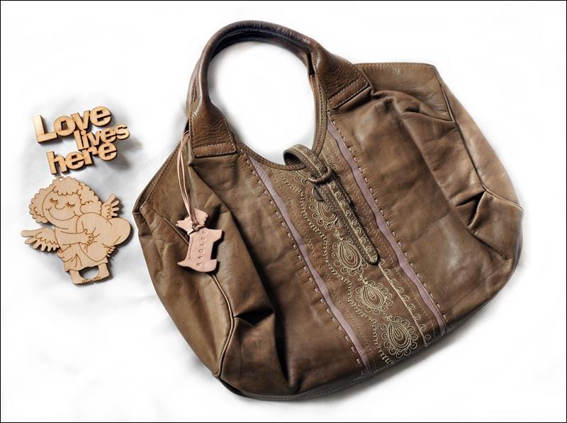 Кожаная сумка от radley