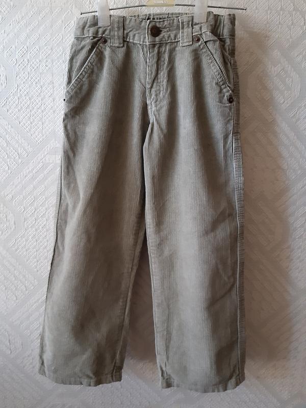 Вельветовые брюки для мальчика 5-6 лет