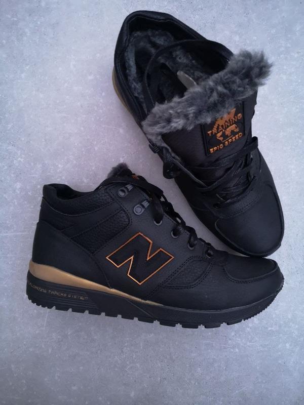 Зимние кожаные ботинки от производителя