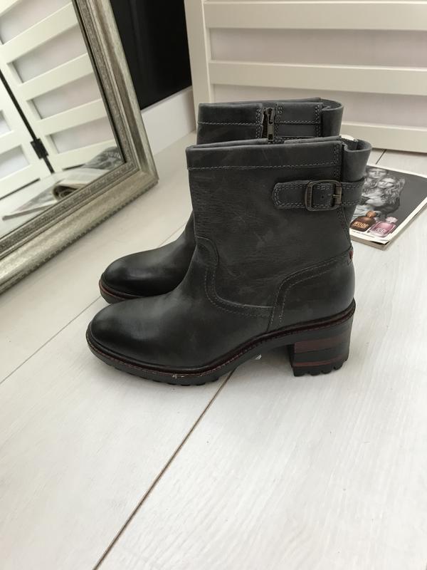 Ботинки на удобном каблуке napapijri 37 p оливковые - Фото 9