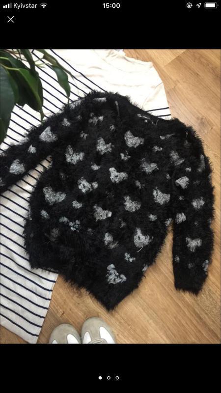 Актуальний молодіжний светр-травичка оверсайз loves london