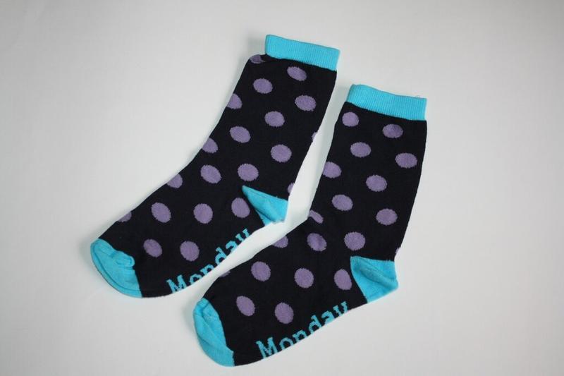 Носочки для девочки горошки
