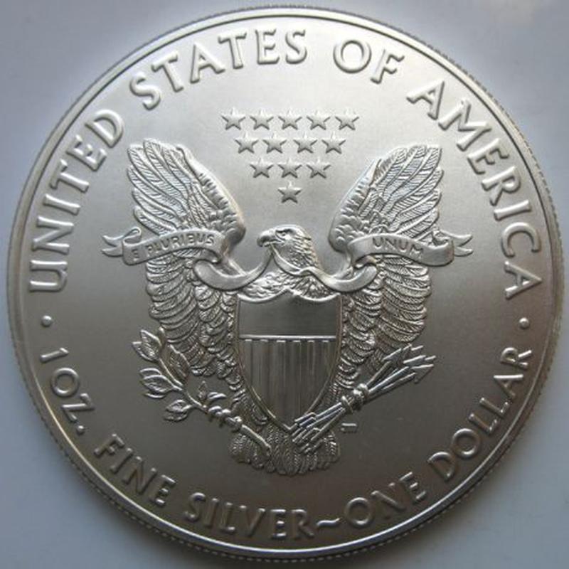 Срібний долар США унція 31,1 грам 999 проба