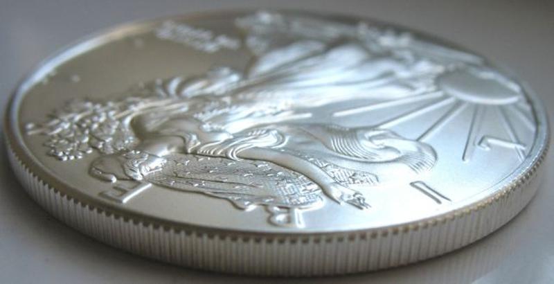 Срібний долар США унція 31,1 грам 999 проба - Фото 3