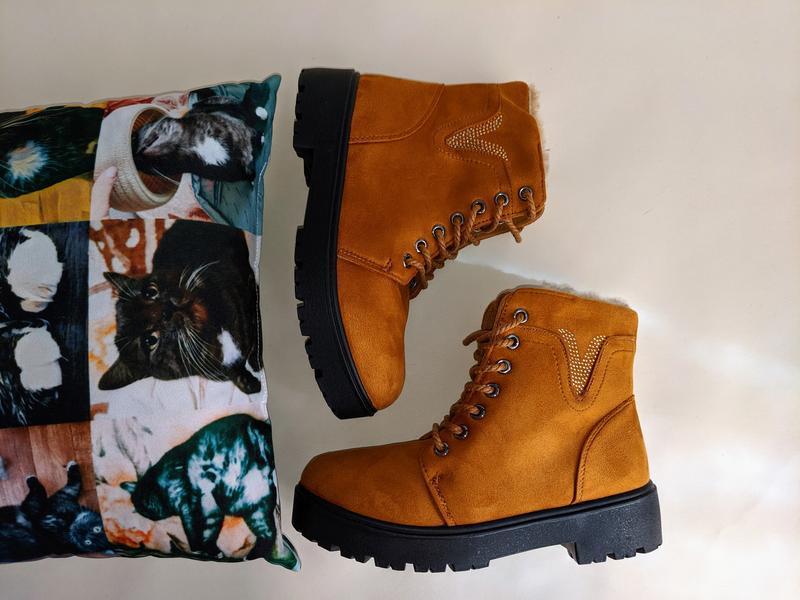 Женские ботинки сапоги - Фото 2
