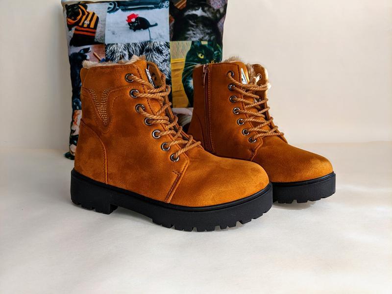 Женские ботинки сапоги - Фото 3