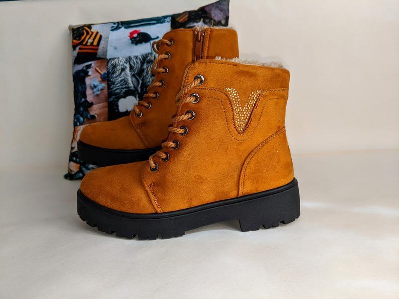 Женские ботинки сапоги - Фото 4