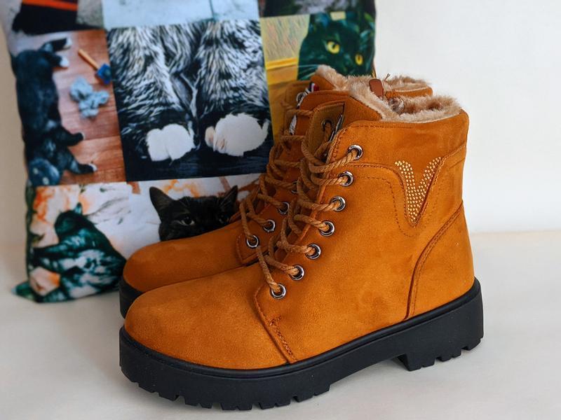Женские ботинки сапоги - Фото 7