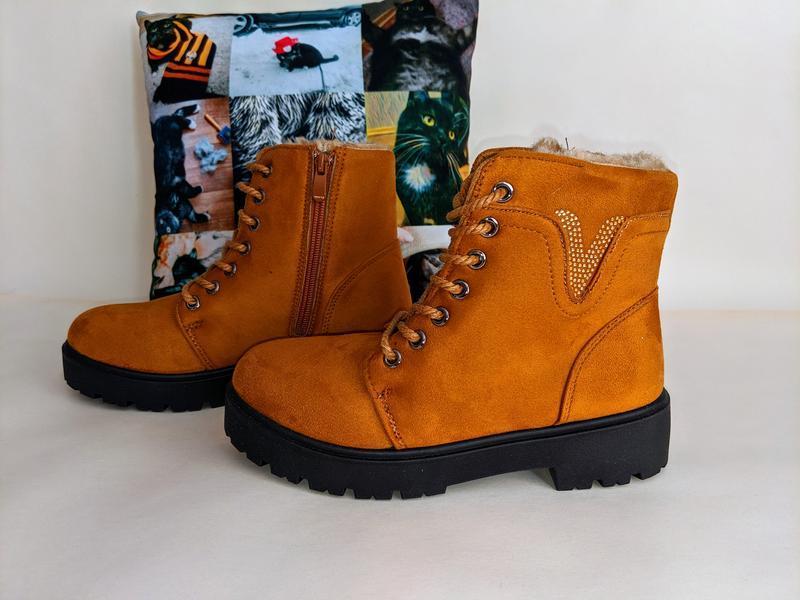 Женские ботинки сапоги - Фото 8