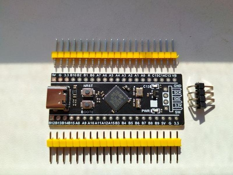 Отладочная плата STM32F401CCU6 STM32F411CEU6 STM32 ARM констру... - Фото 3