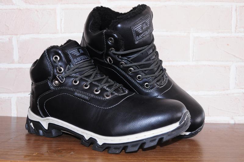 Мужские зимние ботинки, полусапожки  зима, повседневная обувь,...
