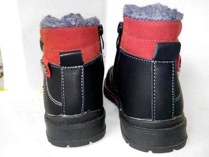 Ботинки, дутики, сапожки детские, для мальчика, зимняя обувь, ... - Фото 2