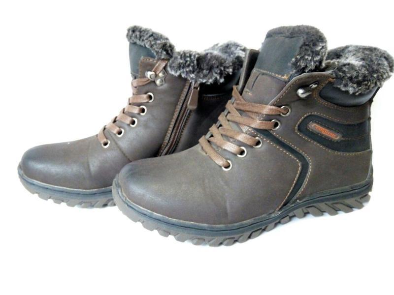 Ботинки детские подросток, термо-ботинки, зимние, демисезонный...