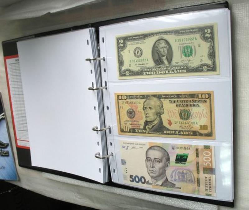 Альбом класичний Schulz для бон, банкнот, купюр паперові гроші