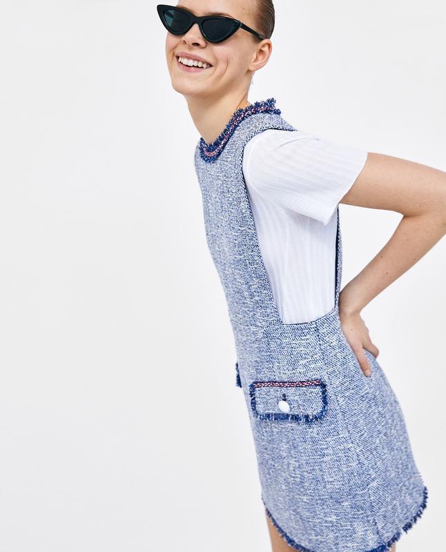 Фирменный сарафан платье zara, размер м