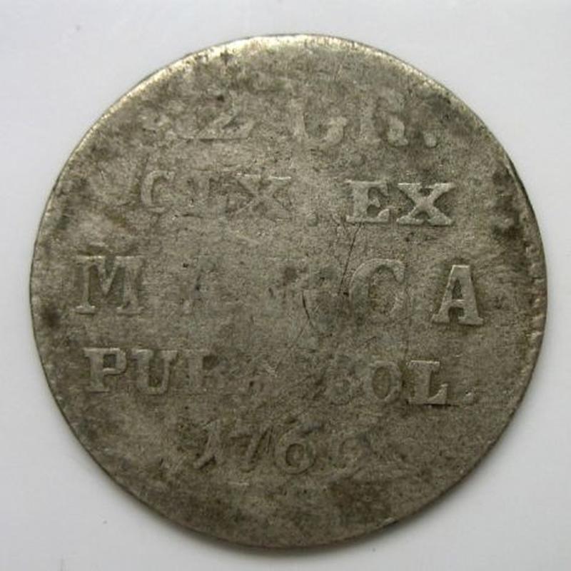 2 Гроша 1769 рік срібло Польща