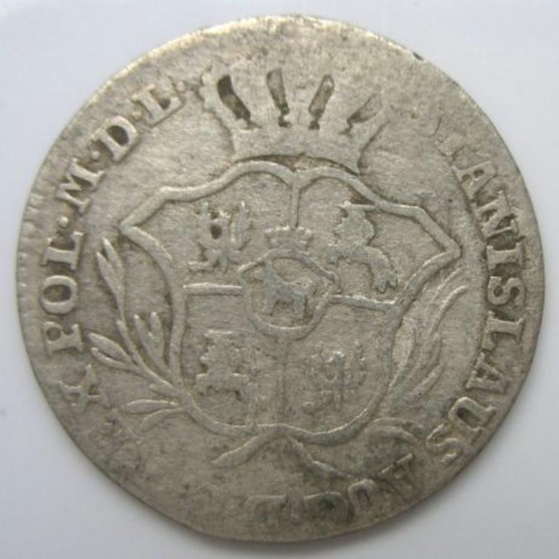 2 Гроша 1769 рік срібло Польща - Фото 2