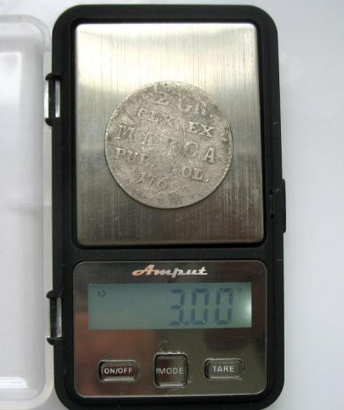 2 Гроша 1769 рік срібло Польща - Фото 5
