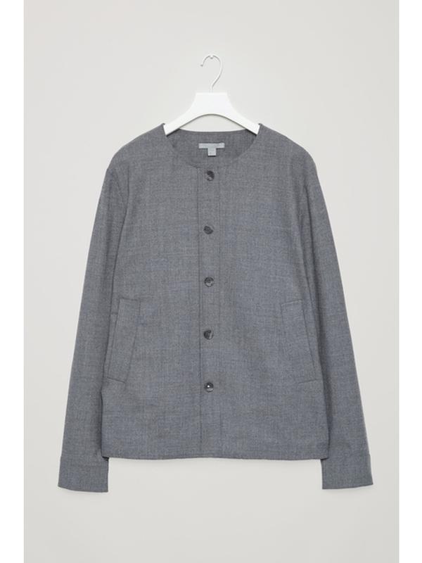 Жакет-рубашка, кофта, cos, 96% шерсть, бирки присутствуют