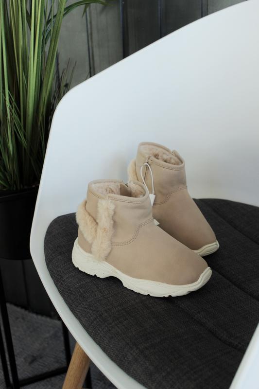 Новые зимние ботинки zara