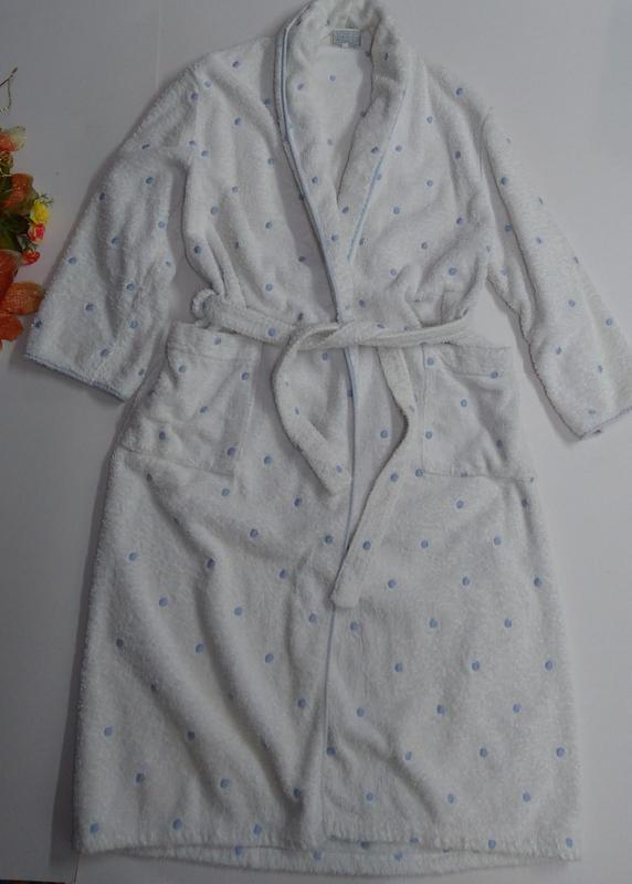 Женский халат размер м ткань 100% коттон