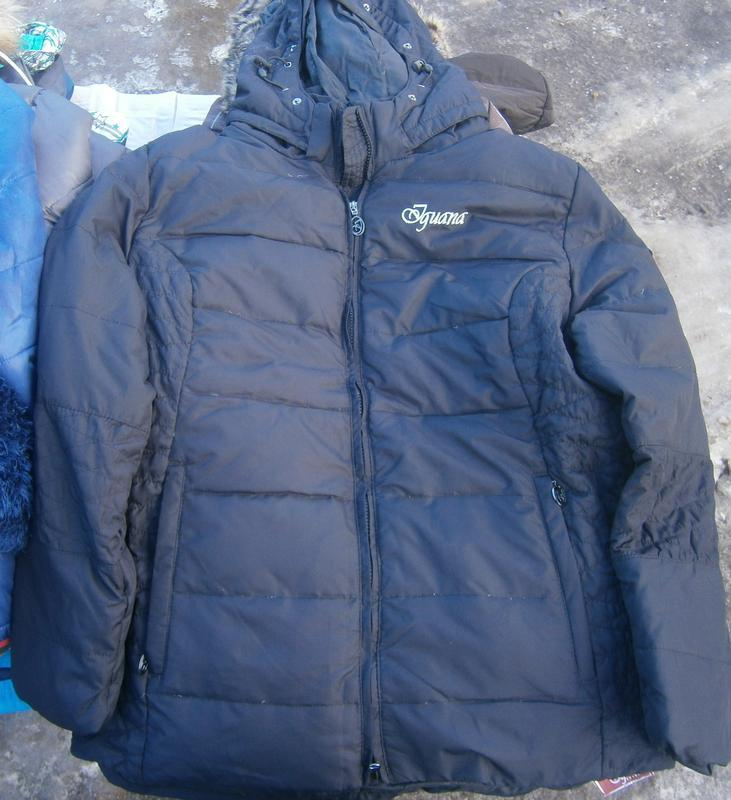 Куртка зимова пухова iguana оригінал