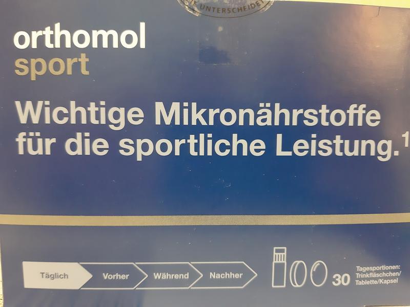 Orthomol Sport Omega 3 ( Ортомол Спорт ) 30 дней