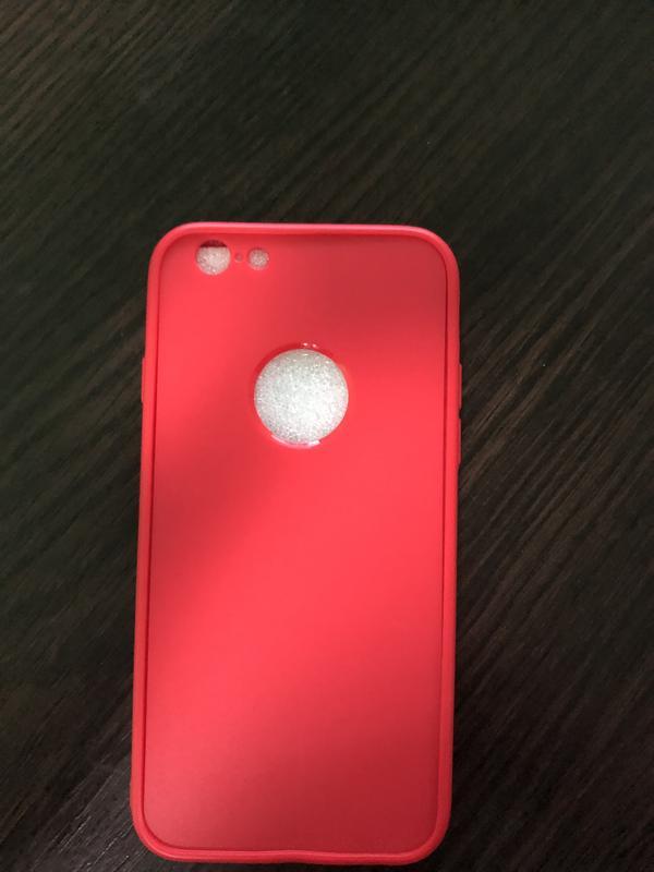 Чехол 360 iPhone 6/6s/8 красный, чёрный - Фото 2