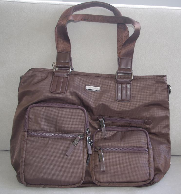 Мужская вместительная сумка на каждый день
