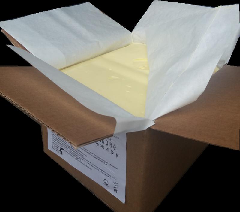 Масло сливочное, 72, 5%, ГОСТ