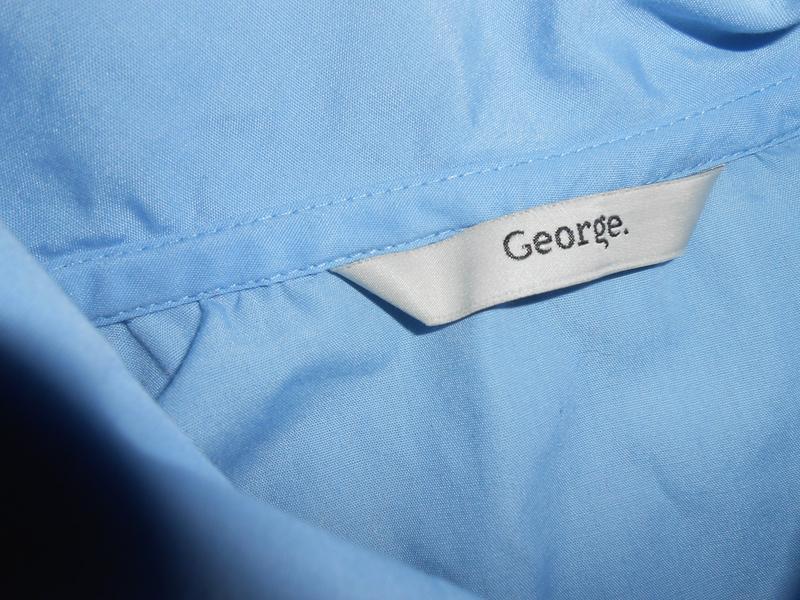 Блуза-рубашка на девочку 11-12 лет классическая ,школьная george - Фото 3