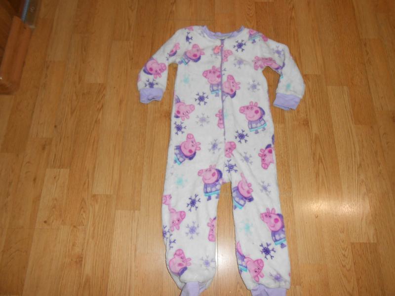 Пижама-человечек на девочку 2-3 года