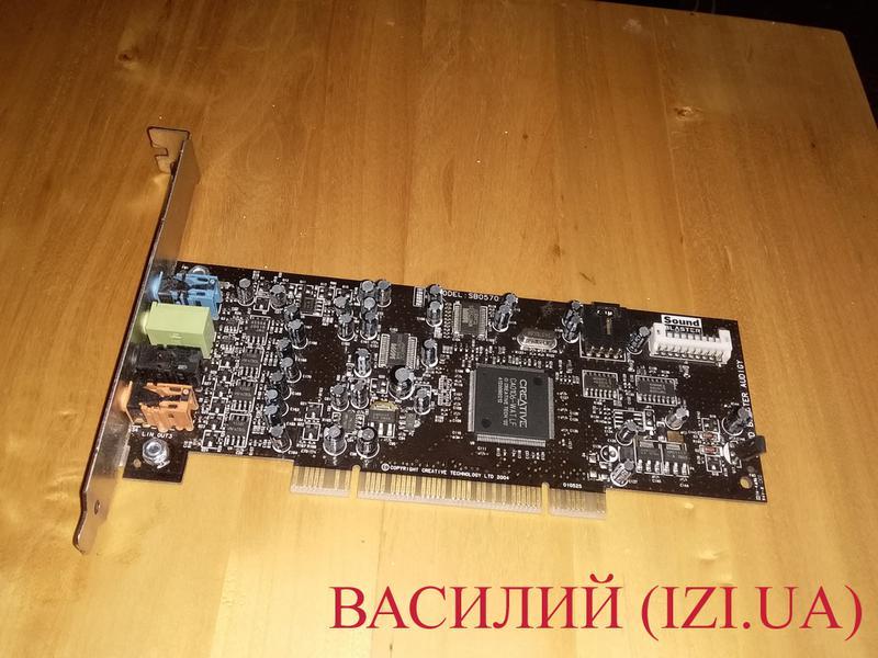 Звуковая карта 7.1 Creative SB Audigy SE SB0570 PCI звук конфета