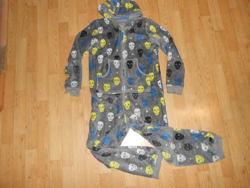Пижама-человечек на мальчика 11-12 лет