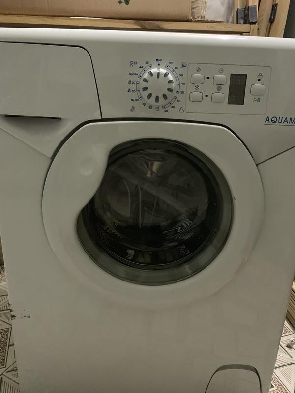 Рабочая стиральная машинка