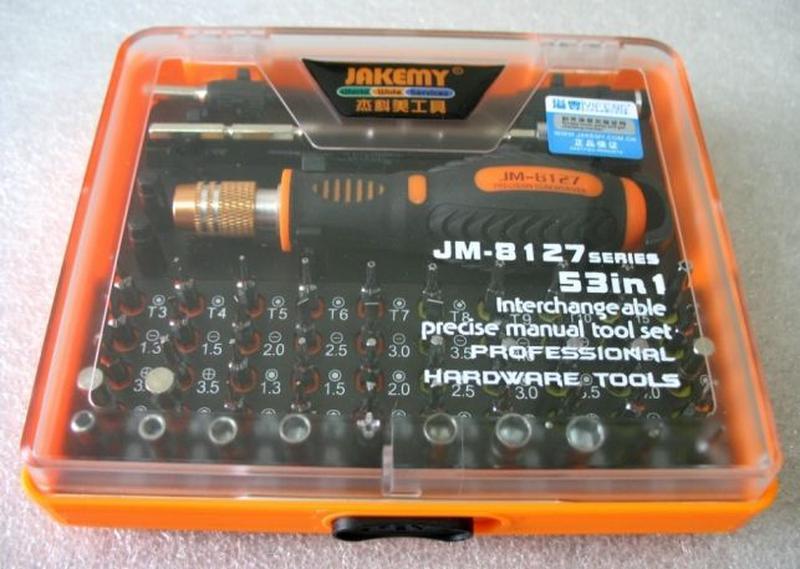 Набір для ремонту телефонів і смартфонів Jakemy JM-8127 оригін... - Фото 5