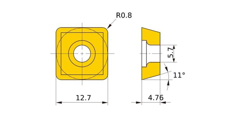 Продам пластину SCET120408 аналог пластины SPMT120408
