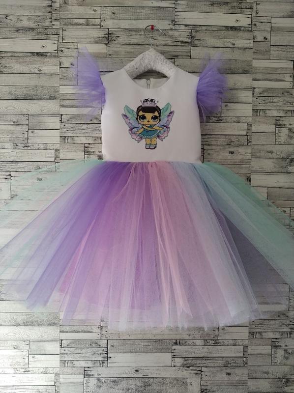 Праздничное нарядное платье лол фея