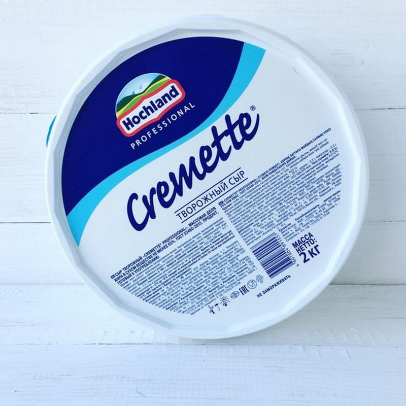 Крем сыр Hochland Kremette 2 кг.