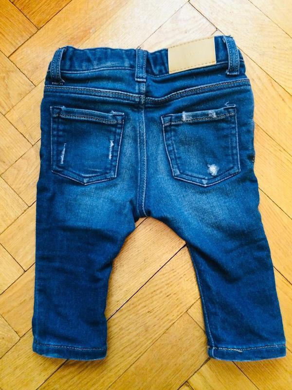 Рваные джинсы для маленьких от h&m - Фото 2