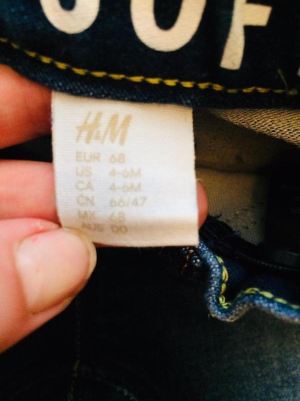 Рваные джинсы для маленьких от h&m - Фото 5