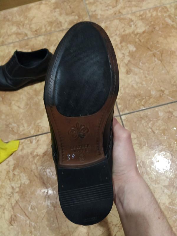 Туфли кожаные 39 размер - Фото 5
