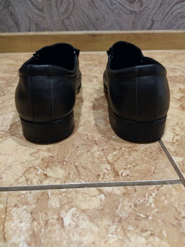 Туфли кожаные 39 размер - Фото 4