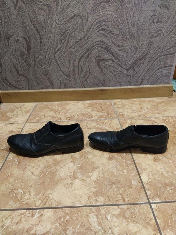 Туфли кожаные 39 размер - Фото 3