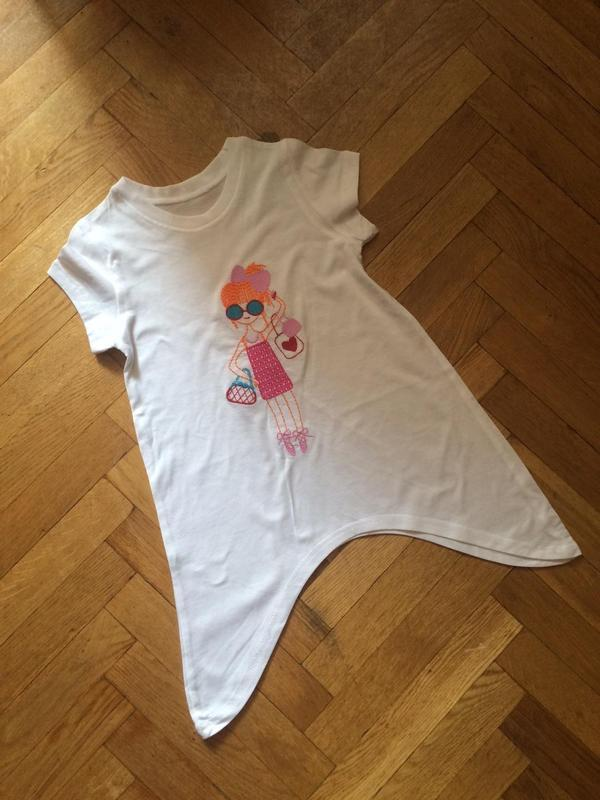 Стильная футболка,туника ,хлопок  bhs
