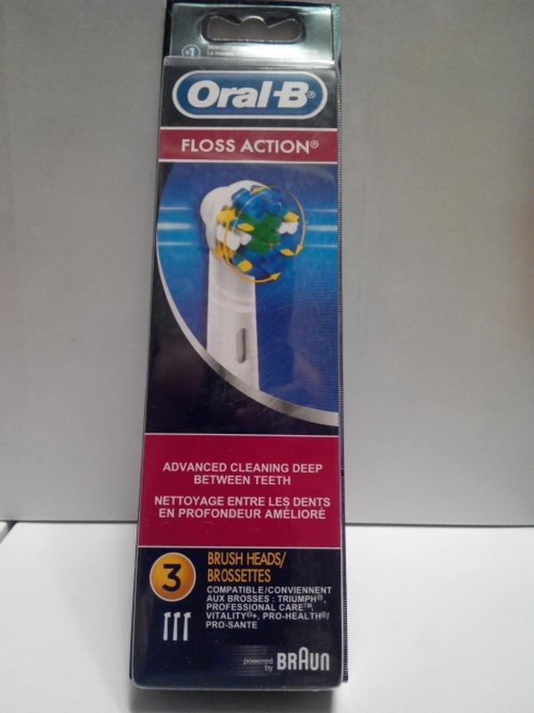 Braun Oral-b Floss Action 3 шт насадки на Зубные электро щетки