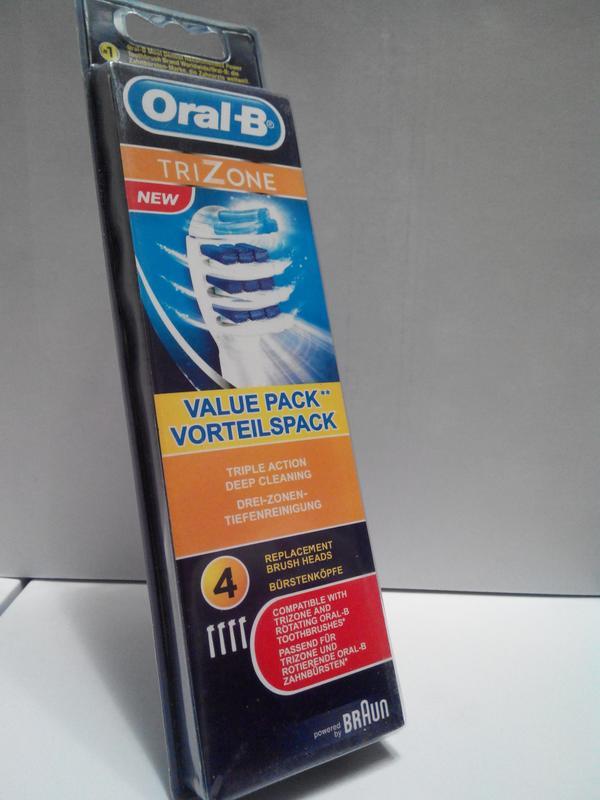 Braun Oral-B Trizone, 4 шт насадки на Зубные электро щетки - Фото 5