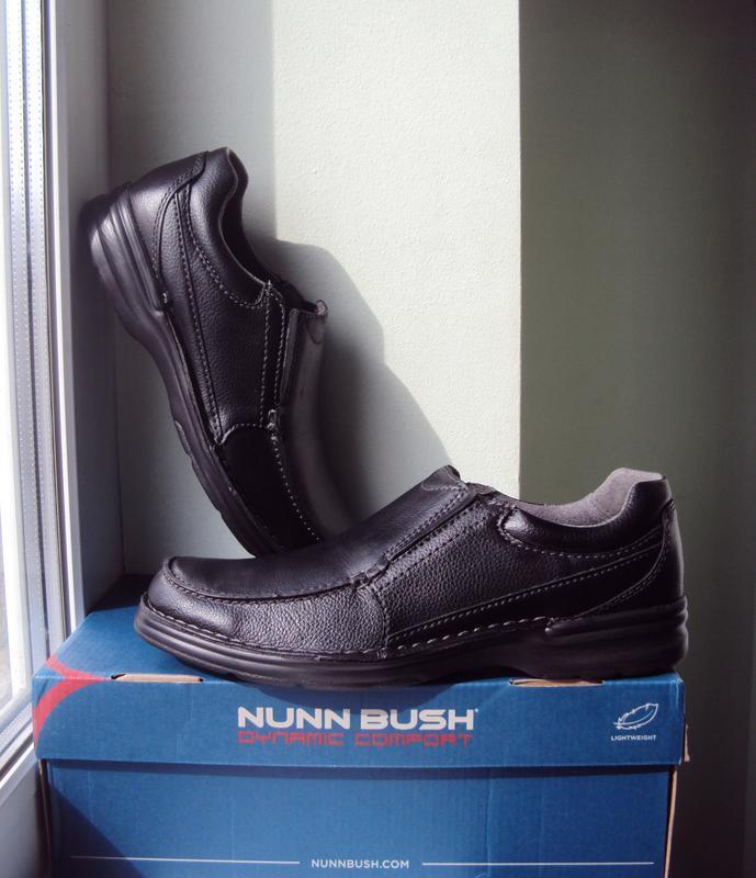 Nunn bush ● р43 ●мужские кожаные туфли, мокасины. оригинал из ...