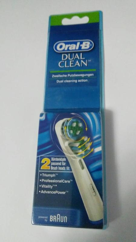 Braun Oral-B Dual Clean 2 шт насадки на Зубные электро щетки